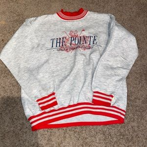 Vintage Gear For Sports The Pointe Crewneck